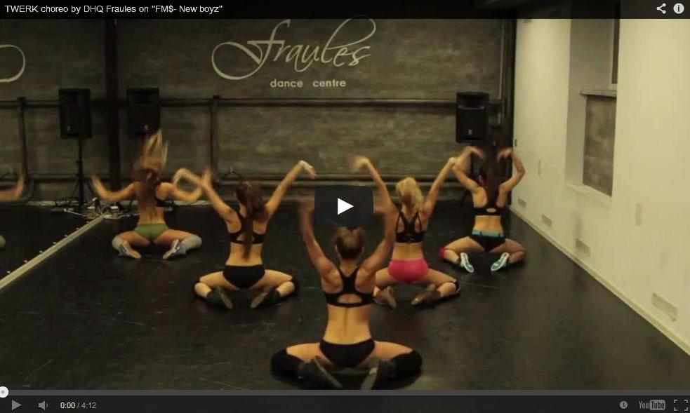 A coreografia de TWERK mais sexy de sempre