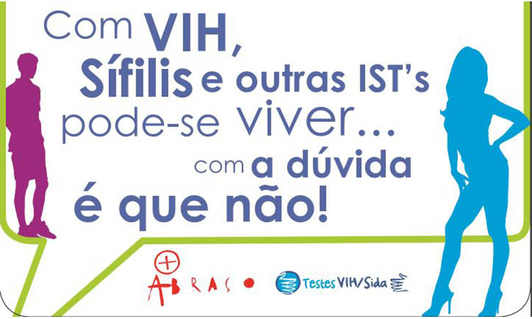 +Abraço Aveiro realiza testes gratuitos e rápidos de VIH, Sífilis e Hepatite