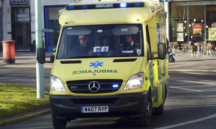 Apanhados a fazer sexo em ambulância que esperava doente