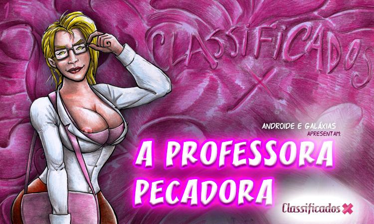 Banda Desenhada: A Professora Pecadora