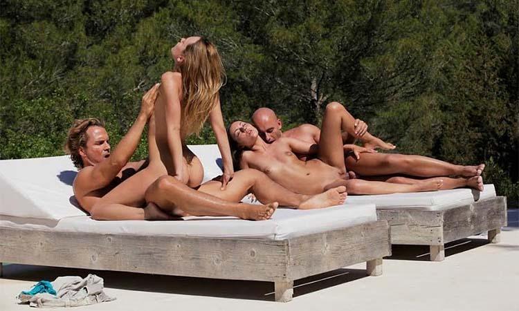 Foursome em férias