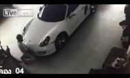 Homem apanhado a fazer sexo com um... Porsche!