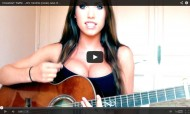 Jess Greenberg numa cover de Jimi Hendrix - Crosstown Traffic