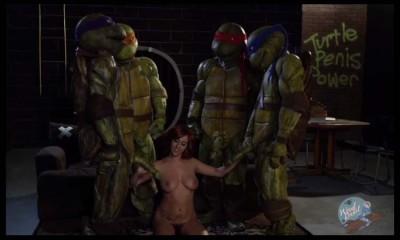 Paródia porno das Tartarugas Ninjas choca fãs