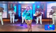 Cantora mexicana perdeu o penso higiénico em directo