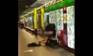 Casal filmado a fazer sexo em plena estação de metro