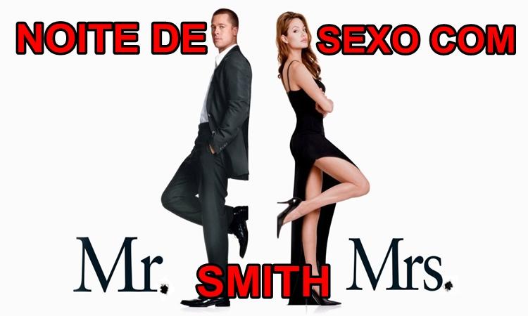 Ménage à trois: Sexo a 4 com Mr. , Mrs. Smith.