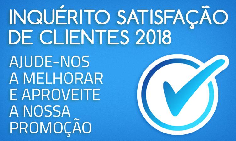 Inquérito de Satisfação de Clientes 2018