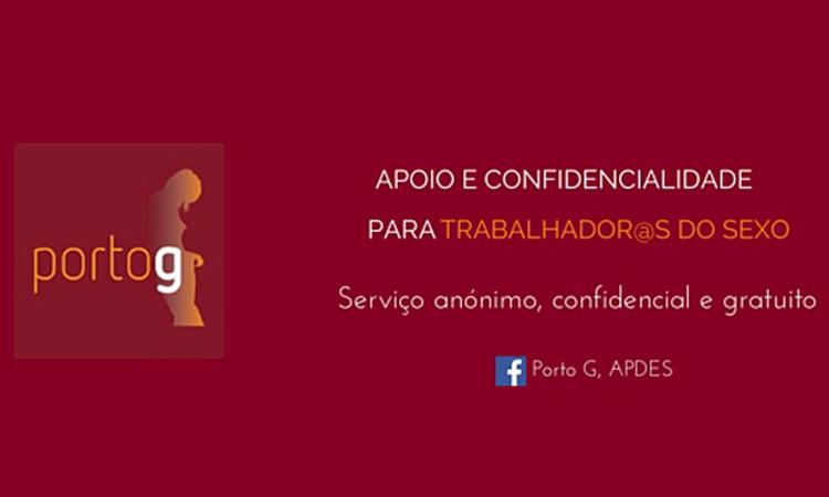 Porto G tem novo site para reforçar apoio a trabalhadores/as do sexo